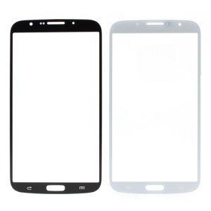White Front Outer Screen Glass Lens for Samsung Galaxy Mega 6.3 I9200