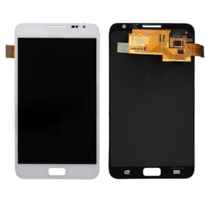 Samsung Galaxy Note i9220 N7000 Digitizer Touch Screen and LCD Assembly Original - White