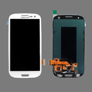 Samsung Galaxy S 3 III I9300 I535 I747 L710 T999 LCD Assembly with Touch Screen Digitizer (OEM) - White