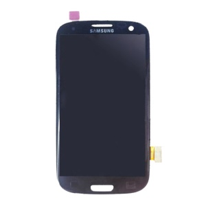 For Samsung Galaxy S3 III I9300 I535 I747 L710 T999 LCD Assembly with Touch Screen Digitizer (OEM) - Dark Blue