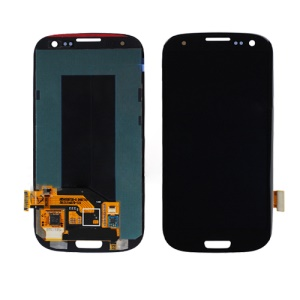 Samsung Galaxy S 3 III I9300 I535 I747 L710 T999 LCD Assembly with Touch Screen Digitizer (OEM) - Black
