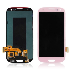 For Samsung Galaxy S3 III I9300 I535 I747 L710 T999 LCD Assembly with Touch Screen Digitizer (OEM) - Pink