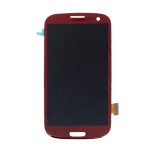 LCD Assembly with Touch Screen Digitizer for Samsung i9300 Galaxy S3 iii - Red