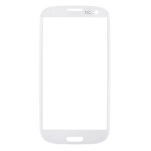 Front Outer Lens Glass Screen for Samsung i9300 Galaxy S III S3 - White