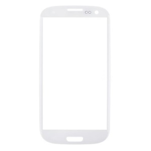 OEM Front Outer Lens Glass Screen for Samsung I9300 Galaxy S3 - White