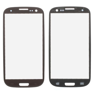 OEM Front Outer Glass Screen Lens for Samsung I9300 Galaxy S3 - Brown