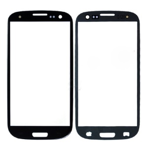 OEM Front Outer Glass Screen Lens for Samsung I9300 Galaxy S3 - Black