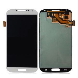 White OEM LCD Assembly with Touch Screen Digitizer for Samsung Galaxy S 4 IV I9505