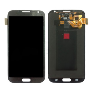 For Samsung Galaxy Note ii N7100 LCD Assembly with Touch Screen Digitizer (OEM) - Grey