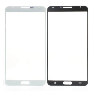 White Grid Pattern Front Glass Screen Lens for Samsung Galaxy Note 3 N9005