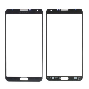 Dark Blue Grid Pattern Front Glass Screen Lens for Samsung Galaxy Note 3 N9005
