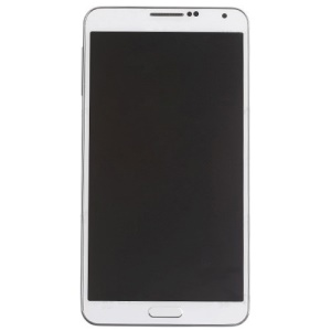 OEM for Samsung Galaxy Note 3 N9005 LCD Screen and Digitizer Assembly with Front Housing - White
