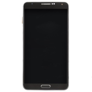OEM LCD Screen and Digitizer Assembly with Front Housing for Samsung Galaxy Note 3 N9005 - Black