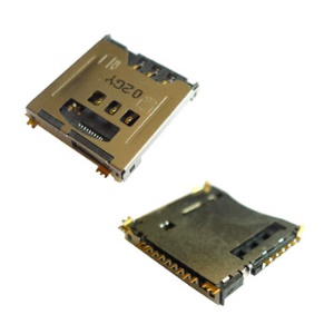 New SIM Card Holder Solt Reader for Samsung SGH-D900