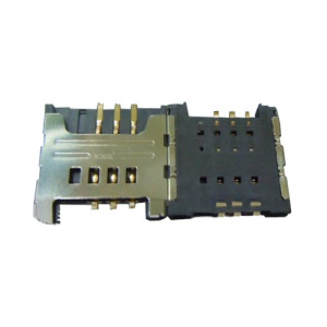 Sim Card Slot Tray Connector for Samsung I9000 I9003 S5360 S5570