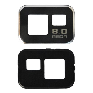 Replacement Camera Len Cover for Samsung i9100 Galaxy S ii - Black