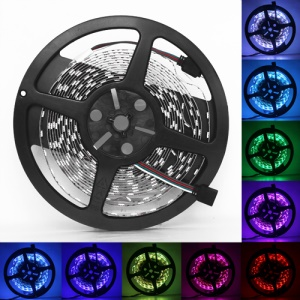 RGB 5050 SMD LED Flexible Strips Multi Colors 5M DC 12V IP60 30LEDS/M