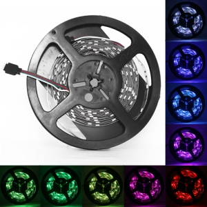 RGB 5050 SMD LED Flexible Strips Multi Colors 5M DC 12V IP60 60LEDS/M