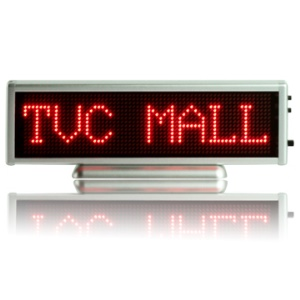 Programmable Scrolling LED Digital Message Display Badge