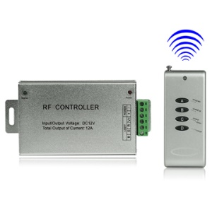 RGB LED Strip Lights Wireless RF Remote Controller