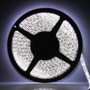Flexible Waterproof 5M 3528 SMD LEDs Strip Light 120pcs/M - Pure White