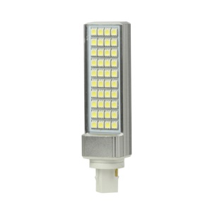 G24 8W 40 LED SMD 5050 90-265V Light Lamp Bulb Energy Saving - Cool White
