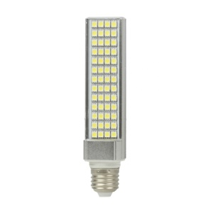 E27 11W 52 LED SMD 5050 90-265V Light Lamp Bulb Energy Saving - Cool White