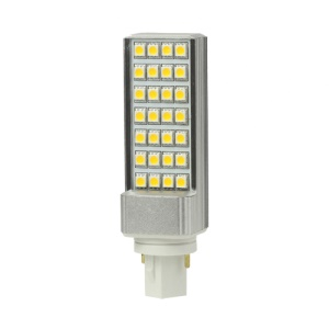 G24 5W 28 LED SMD 5050 90-265V Light Lamp Bulb Energy Saving - Warm White