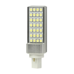 G24 5W 28 LED SMD 5050 90-265V Light Lamp Bulb Energy Saving - Cool White