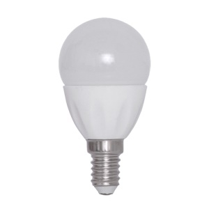 E14 1.5W 6500K 135-Lumen SMD3528 30-LED Ceramic Light Bulb AC 220V Milky Cover - White