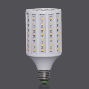 E27 220V SMD5050 102-LED 18W 1632LM LED Corn Light Bulb Lamp - Warm White