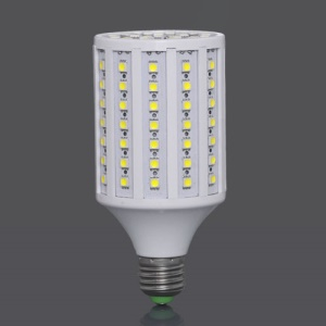 E27 220V SMD5050 102-LED 18W 1632LM LED Corn Light Bulb Lamp - White