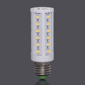 E27 SMD5050 44-LED 9W 704LM LED Corn Light Bulb Lamp AC85V~265V - Warm White