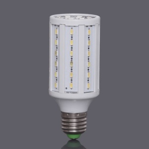E27 SMD5630 60-LED 11W 1260LM LED Corn Light Bulb Lamp AC85V~265V  - White
