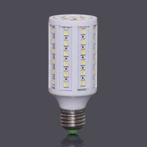 E27 SMD5050 60-LED 12W 960LM LED Corn Light Bulb Lamp AC85V~265V  - White