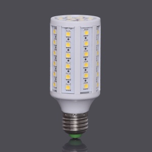 E27 SMD5050 60-LED 12W 960LM LED Corn Light Bulb Lamp AC85V~265V  - Warm White