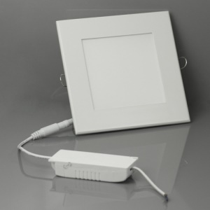 AC 85V-265V 12W Small Square Panel LED Ceiling Down Light Bulb Lamp 155*155mm - Cool White