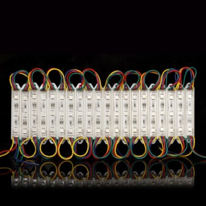 20PCS 5050 RGB SMD 3LED Strip Light DC 12V Car Signboard IP65 Waterproof