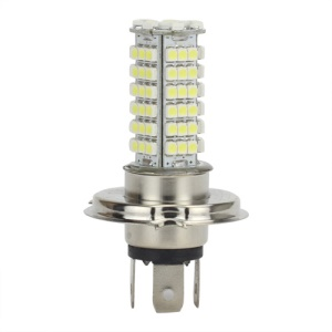 102 Leds 3528-SMD H4 Car LED Light Bulb Lamp White