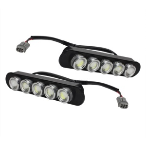2PCS White Daytime Running Light DRL Car Lamp Universal Waterproof