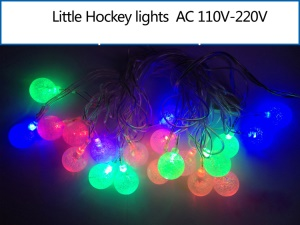 Little Hockey Shaped LED Light String Decoration Lamp for Christmas Wedding Party etc