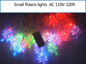 Small Polaris Shaped LED Light String Lighting Decoration for Christmas Wedding Party etc