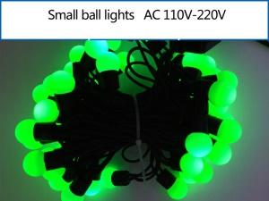 5M Dia.1.8cm Small Ball LED String Light Decoration Lighting for Xmas Wedding Party - Green