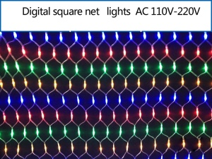 288 Leds LED Net Light String Mesh Lighting Xmas Wedding Party Decoration - RGB
