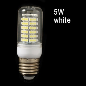 E27 3528 5W 120 LED Corn Light Bulb Lamp - White