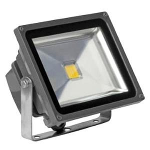 Fashion 50W LED White Outdoor Flood Light Landscape Lamps + LED Wall Washer