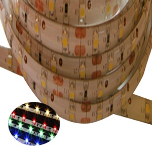 12V 4.8W/M 3528 60-LED/M Flexible Waterproof Strip Light