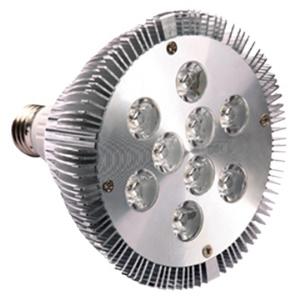 E27 PAR38 9W 85-265V 750 Lumens 2700-6400K White LED Spot Light Lamp Bulb