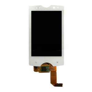 Sony Ericsson Xperia Mini Pro SK17i LCD Assembly with Digitizer Original - White