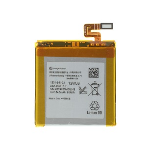 For Sony Xperia ion LTE Lt28i 1840mAh LIS1485ERPC Internal Battery Replacement (OEM, Not Brand New)